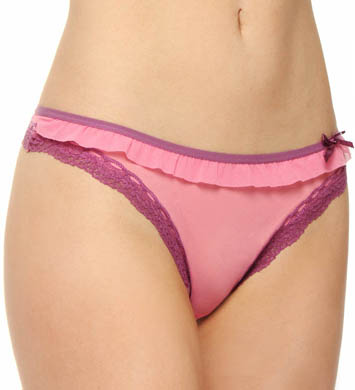 DKNY Fancy Frills Low Rise Thong