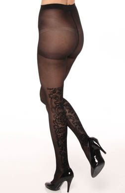 DKNY Hosiery Evening Velvet Panel Tight