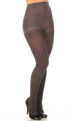 DKNY Hosiery Menswear Patchwork Texture Tight