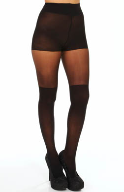 DKNY Hosiery Sheer Tights Lowrise Over the Knee Illusion