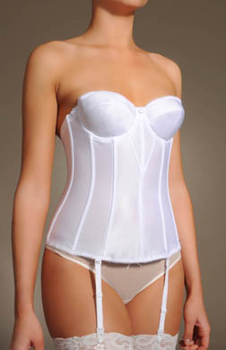 Dominique Satin Tricot Torsolette