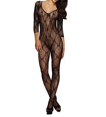 Dreamgirl Bow Body Stocking