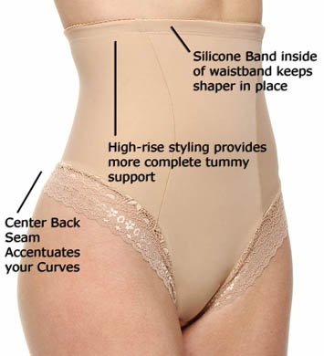 DuMi shapewear Firm Control Hi-Waist Thong Panty