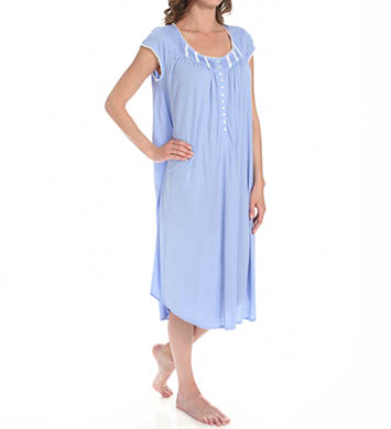 Eileen West Nights Enhancement Cap Sleeve Nightgown