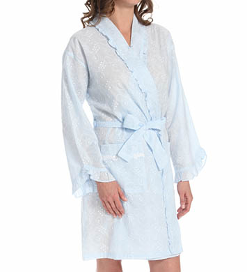 Eileen West Afterglow Short Wrap Robe