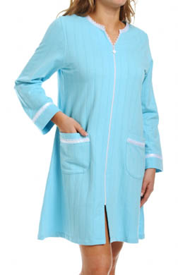Eileen West Siren's Call Short Zip Robe