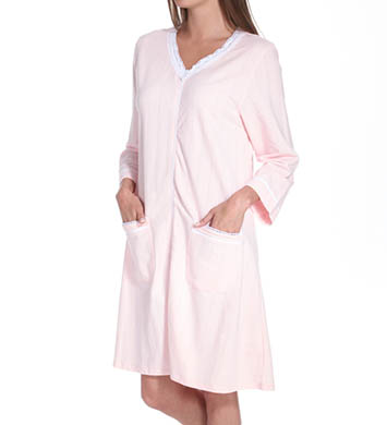 Eileen West Country Fields French Terry Zip Robe