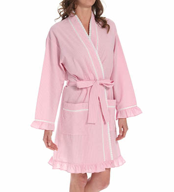 Eileen West Encanto Short Wrap Robe