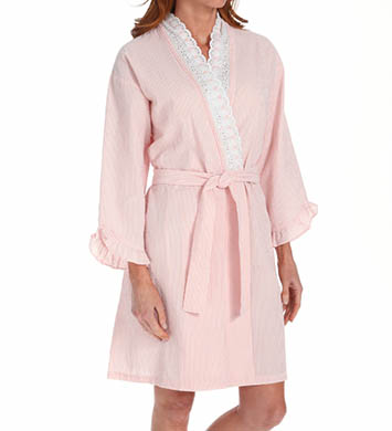 Eileen West Sonnets Short Wrap Robe