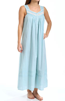 Eileen West Ocean Mist Sleeveless Ballet Nightgown