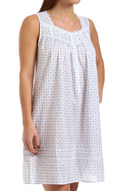 Eileen West Exquisite Dawn Sleeveless Short Nightgown