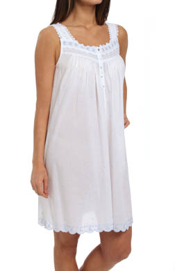 Eileen West The Romantics Sleeveless Short Nightgown