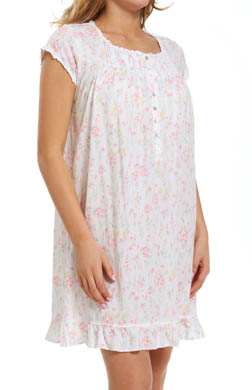 Eileen West Impressionist Short Nightgown