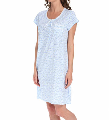 Eileen West Aurora Light Cap Sleeve Nightgown
