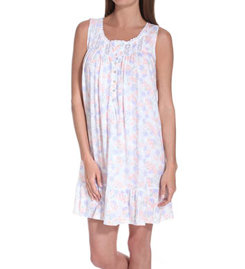 Eileen West Petals Of The Valley Sleeveless Short Nightgown