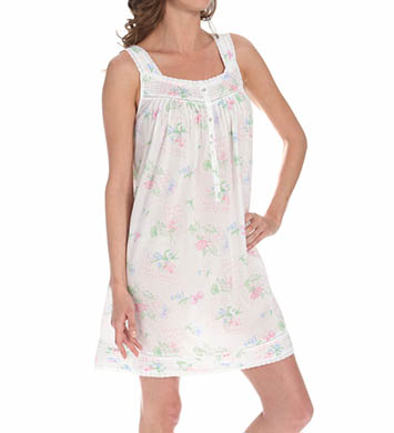 Eileen West Encanto Sleeveless Short Nightgown