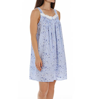 Eileen West Rose Short Sleeveless Nightgown