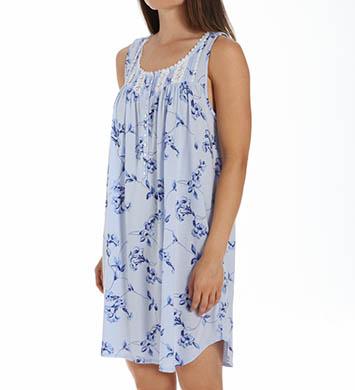 Eileen West Vine Short Sleeveless Modal Nightgown