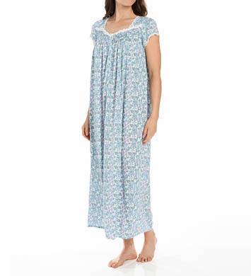 Eileen West Flora Ballet Cap Sleeve Modal Nightgown