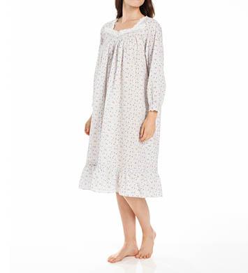 Eileen West Winter White Waltz Long Sleeve Nightgown