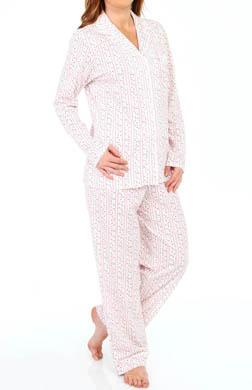 Eileen West Vintage Bloom Long Sleeve Top & Pant PJ Set