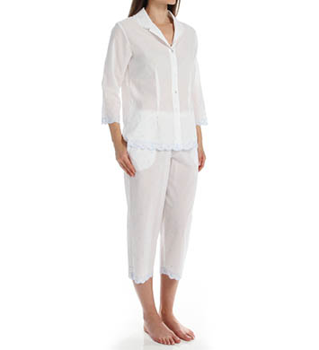 Eileen West The Romantics Notch Collar PJ