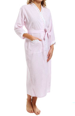 Eileen West Vertical Stripe Robe