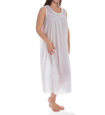 Eileen West Solid Plus Size Ballet Nightgown