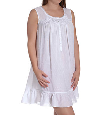 Eileen West Sun Kissed Short Nightgown Plus