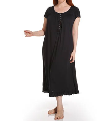 Eileen West Plus Size Radiant Spirit Cap Sleeve Nightgown
