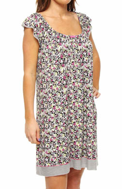 Ellen Tracy The Bright Outlook Shortsleeve Chemise