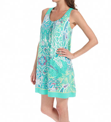 Ellen Tracy A Breath Of Fresh Flair Sleeveless Chemise
