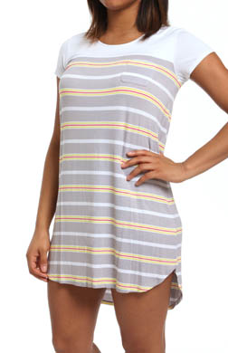 Ellen Tracy Sunshine Short Sleeve Sleep Tee