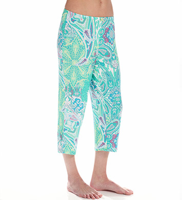 Ellen Tracy A Breath Of Fresh Flair Cropped Pant