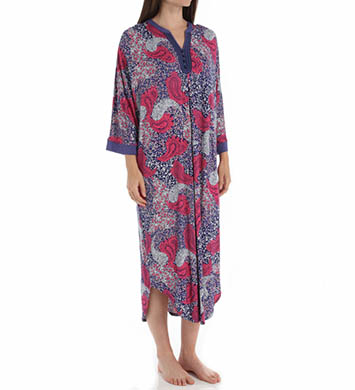Ellen Tracy Equinox Long Caftan