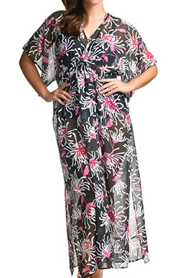 elomi Fiora Maxi Kaftan Swim Cover Up