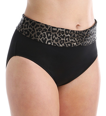 Elomi Wild Thing Fold Brief Swim Bottom