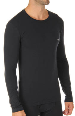 Emporio Armani Basic Stretch Cotton Long Sleeve
