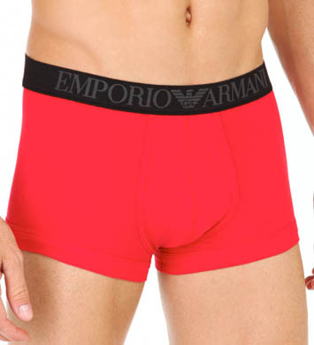 Emporio Armani Colored Stretch Cotton Trunks