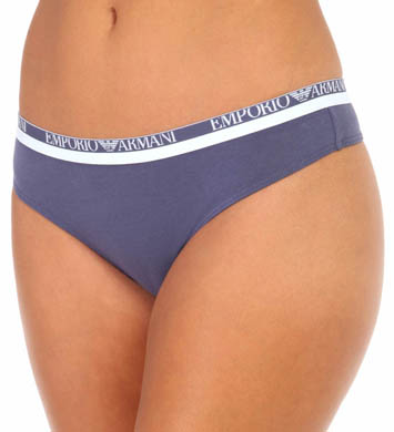 Emporio Armani Everyday Stretch Cotton Thong