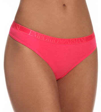 Emporio Armani Stretch Cotton Thong