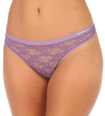 Emporio Armani Allover Lace Thong