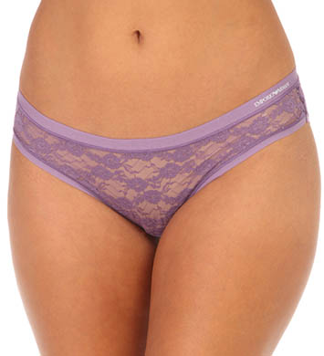 Emporio Armani Allover Lace Brief Panty