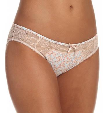 Emporio Armani Fantasy Print Micro Lace Brief Panty