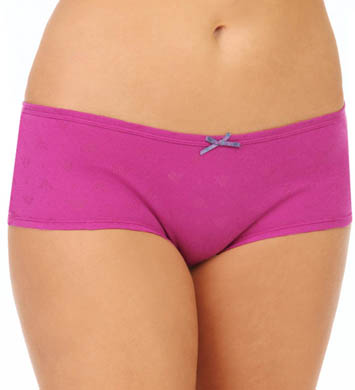 Emporio Armani Eagle Design Jacquard Cotton Two Pack Panty