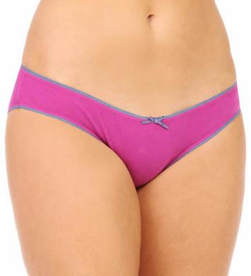 Emporio Armani Eagle Design Jacquard Cotton Brief Two Pack Panty