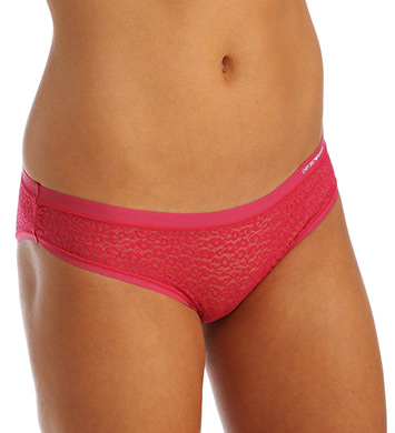 Emporio Armani Lace All Over Brief Panty