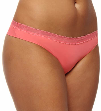 Emporio Armani Basically Micro with Crochet Brazilian Brief Panty