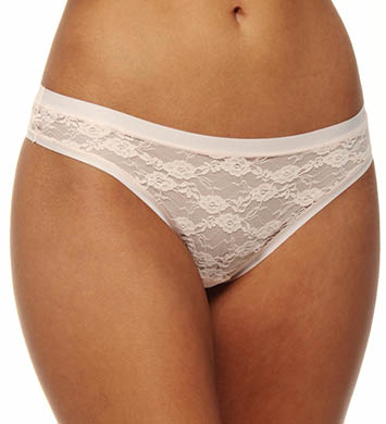 Emporio Armani All Over Lace Brazilian Brief Panty