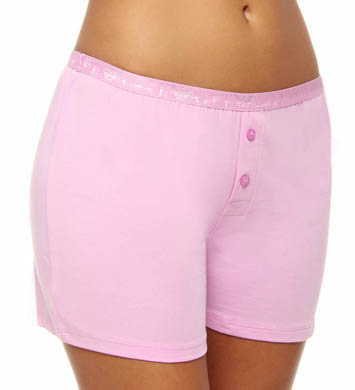 Emporio Armani Everyday Stretch Cotton Logo Shorts Panty
